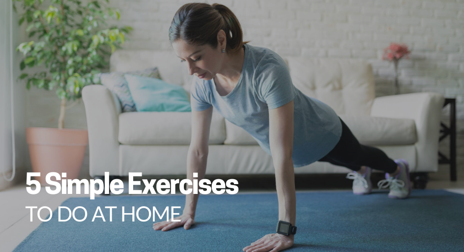 blog image of a woman exercising at home
